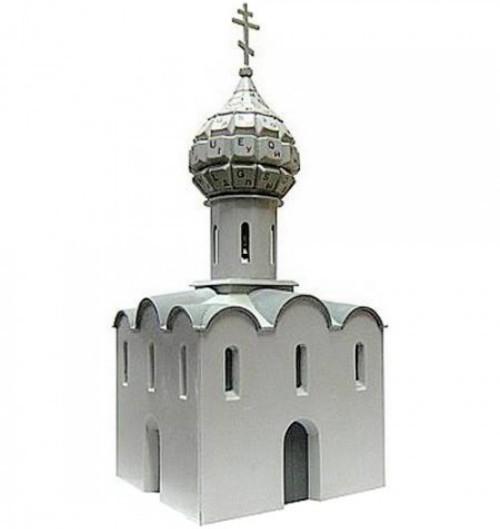 Модели зданий и исторических памятников из старых компьютеров