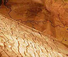 Невероятные археологические находки. Объёмная карта мира древней цивилизации