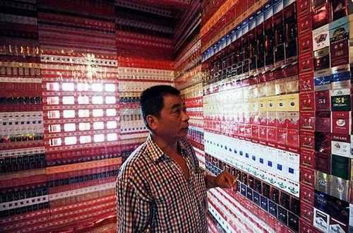 Коллекция сигаретных пачек