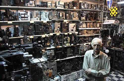 Коллекция кинокамер