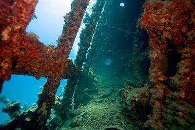 Лагуна Трук в Микронезии