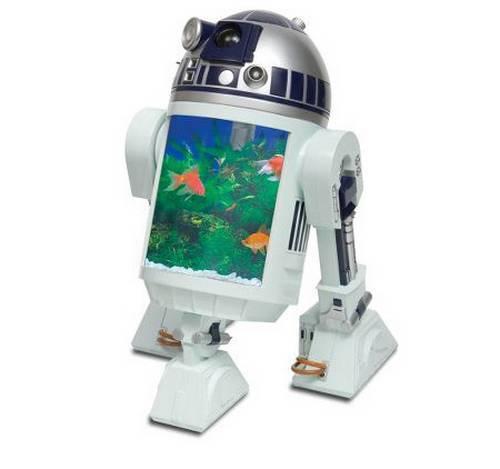 Аквариум робот