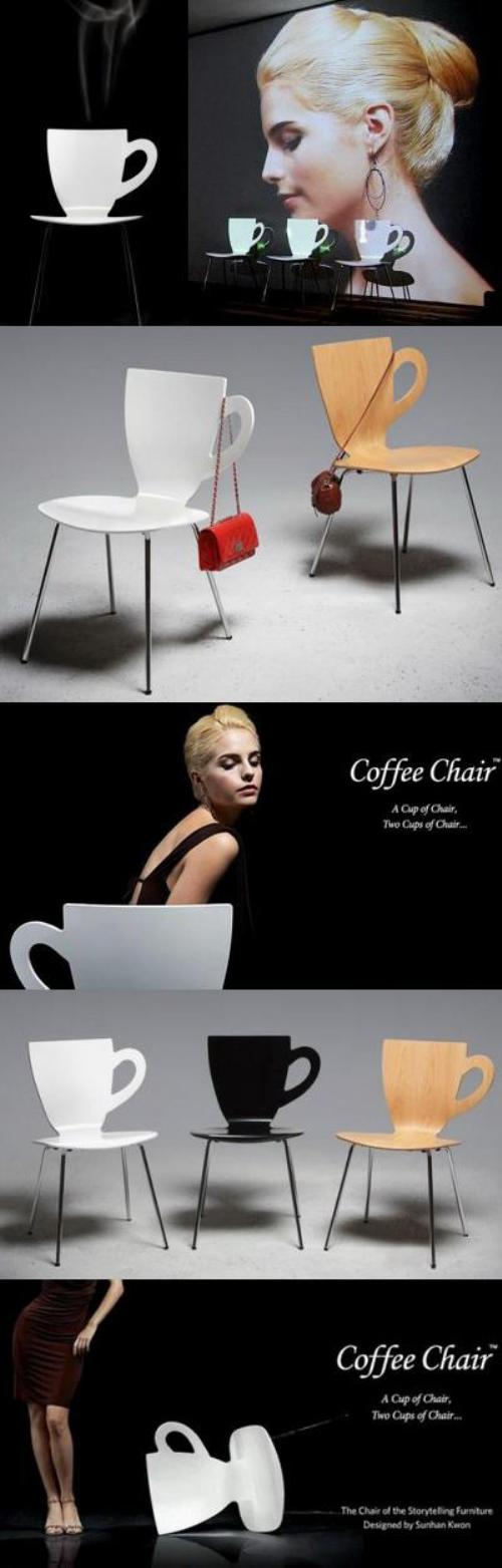Стул кофейная чашка